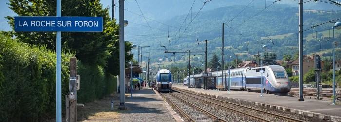 Gare de la roche sur foron communaut de communes du - La roche sur foron office du tourisme ...